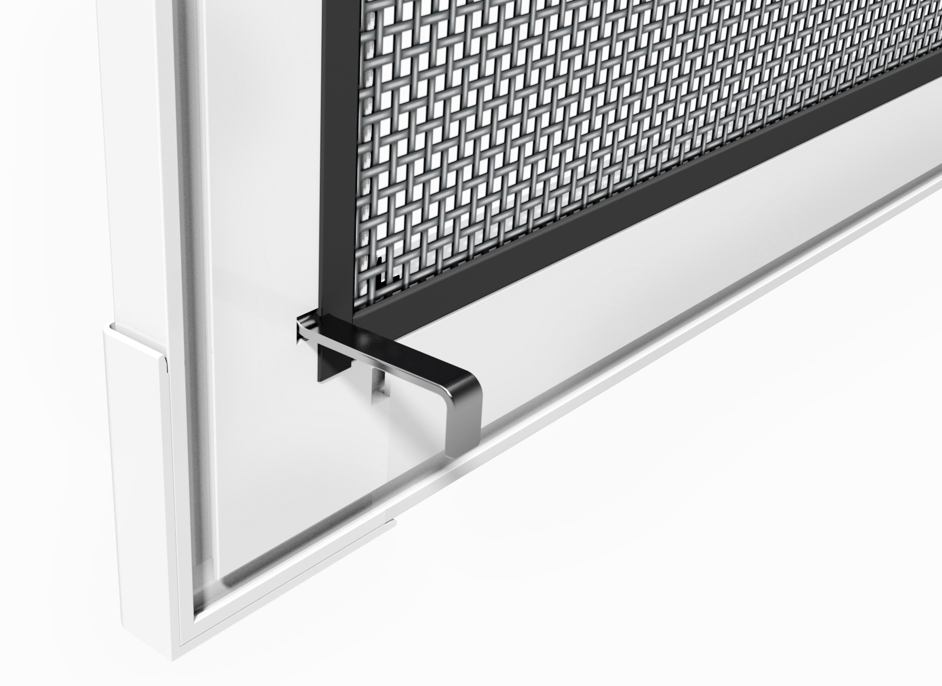 aluminium insektenschutzspannrahmen f r fenster teso insektenschutzsysteme. Black Bedroom Furniture Sets. Home Design Ideas