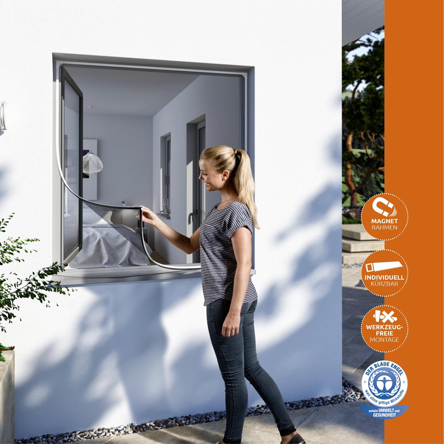 einfach effektiv insektenschutz magnetrahmen in wei teso insektenschutzsysteme. Black Bedroom Furniture Sets. Home Design Ideas